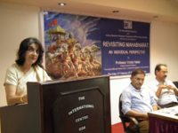 "Lecture on ""Revisiting Mahabharat: An individual perspective"" by Professor Vrinda Nabar"