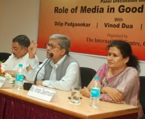 "Panel Discussion on ""Role of Media in Good Governance"""