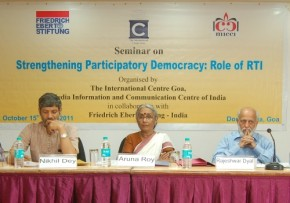 Seminar on 'Strengthening Participatory Democracy: Role of RTI'