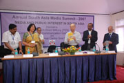 South Asia media summit
