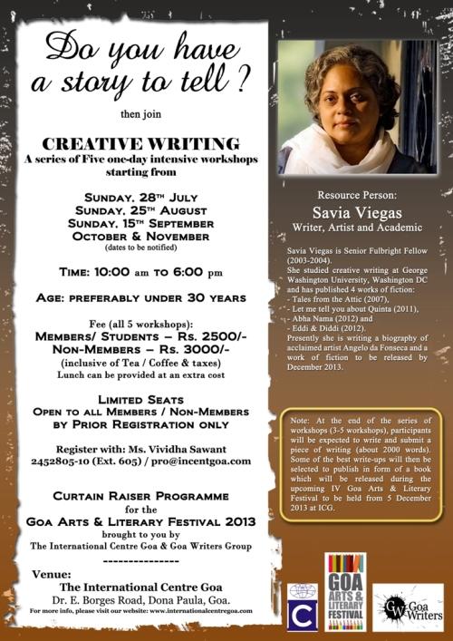 Creative writing seminars