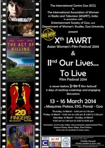 10th IAWRT Asian Women's Film Festival 2014