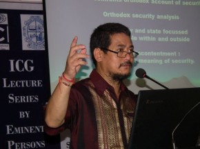 Lecture on Borders and Peace Building by Prof. Mahendra P Lama