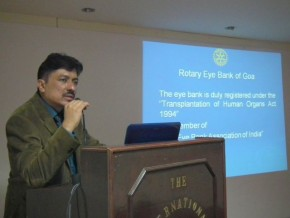 Health Talk on Awareness about Rotary Eye Bank