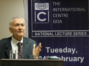Lecture on India's National Security By Gen. V Saighal