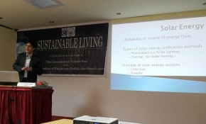 Talk on Viability of Solar Energy