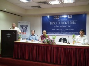 Panel Discussion on Impact of Budget 2016