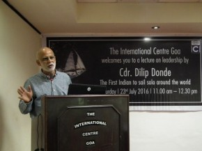 Lecture on Leadership by Cdr Donde