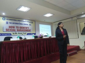 Talk on Sexual Harrassment